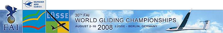 Segelflug Weltmeisterschaften in Lüsse-Berlin/Germany 2008.