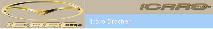 Icaro Drachen beim Drachenhänder Flugschule Neustadt-Glewe.