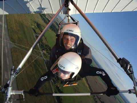 hang gliding its a lot of fun