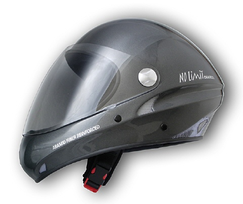 Charly No Limit anthrazit Integral Flugsport-Helm