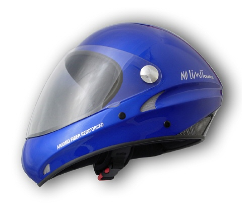 Charly No Limit blau Integral Flugsport-Helm