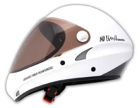Charly No Limit weiss Integral Flugsport-Helm
