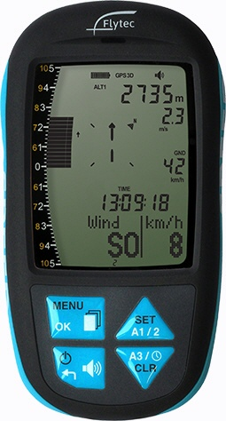 Flytec Element Speed - Fluginstrument mit GPS