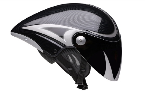 Jet Helm in Carbon Optic in der Long Tail Version