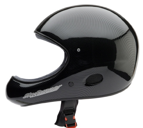 SkyRunner Integral Helm in edlem carbon finish